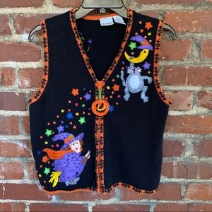 Sweaters - Ugly Halloween sweater vest